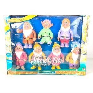 1992 Disney Snow White & the Seven Dwarfs Gift Set
